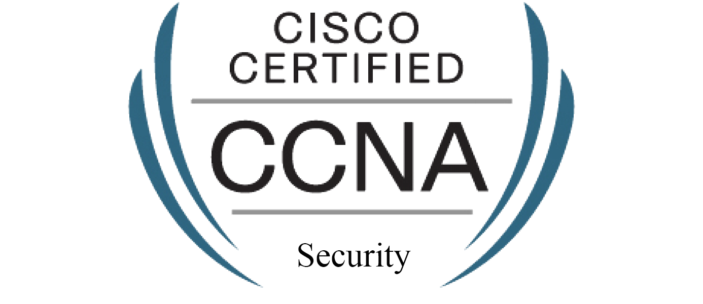 Cisco Certified Network Associate Security (CCNA Security) validates associate-level knowledge and skills required to secure Cisco networks. With a CCNA Security certification, a network professional demonstrates the skills required to develop a security infrastructure, recognize threats and vulnerabilities to networks, and mitigate security threats.